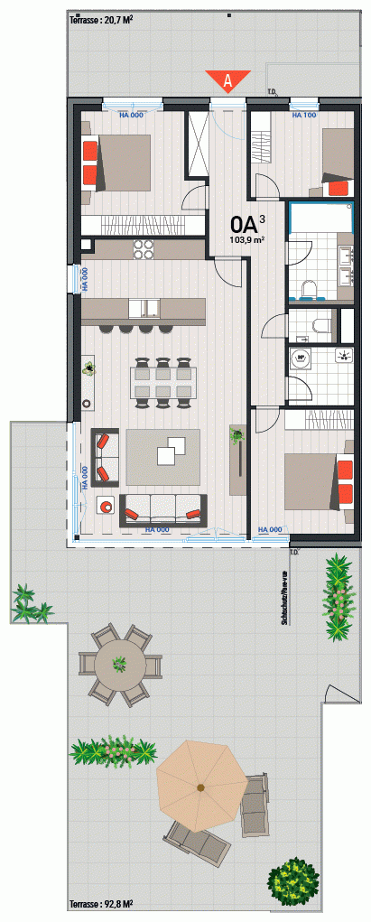 Appartement 0A