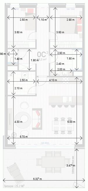 Appartement 0C