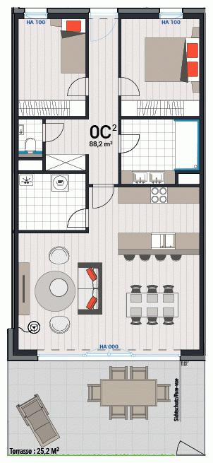 Wohnung 0C
