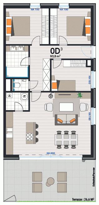 Wohnung 0D