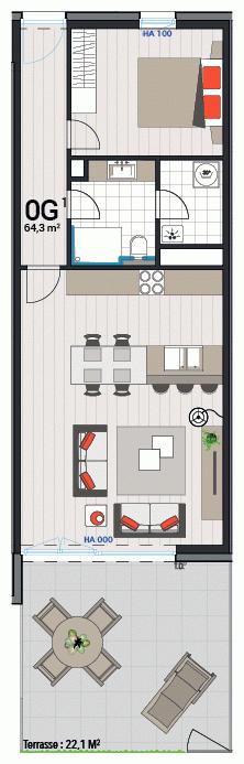 Appartement 0G