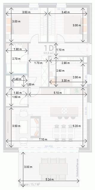 Wohnung 1D