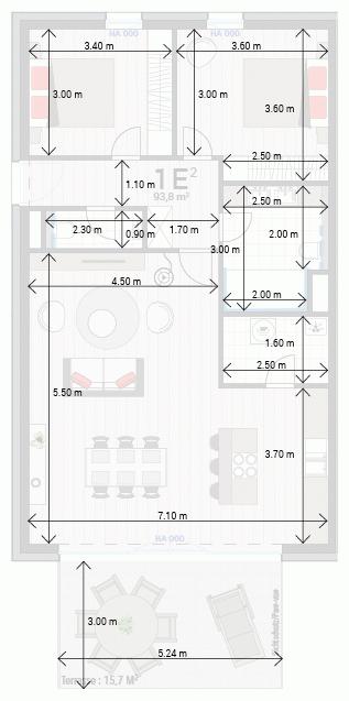Wohnung 1E