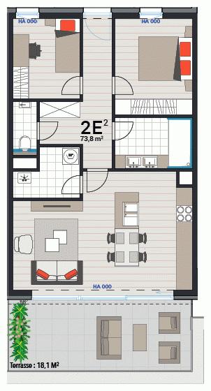 Appartement 2E